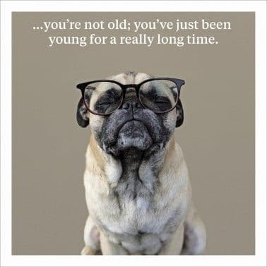 You're Not Old: